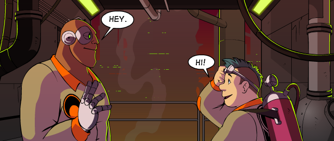 Guest Recs From Erin Ptah: Sci-Fi Webcomics With Same-Sex Couples